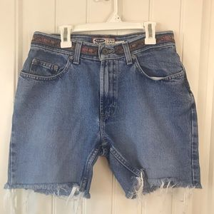 Old Navy cut off denim shorts high waisted
